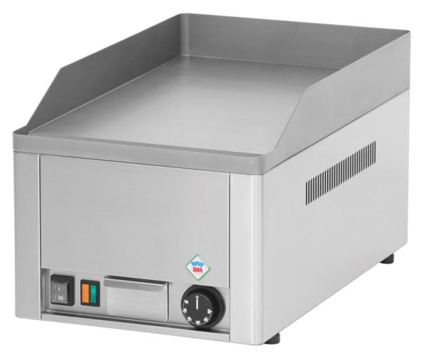 Grillplatte 33x55cm - glatt - elektro
