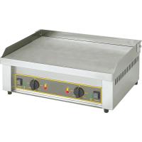 Grillplatte 62x45 cm - glatt - elektro