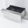 Premium Gas-Grillplatte 40x70cm - glatt