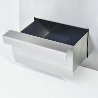 Premium Gas-Grillplatte 80x70cm - ½ glatt, ½ gerillt