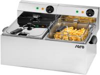 SARO - Premium Fritteuse 8+8 Liter