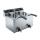SARO - Profi Fritteuse 8+8 Liter mit Ablasshahn