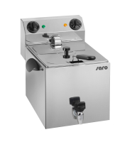 SARO - Premium Fritteuse 10 Liter mit Ablasshahn - 400V