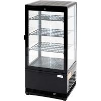 Kühlvitrine 78 Liter - schwarz