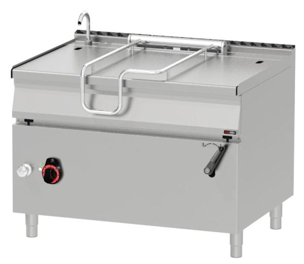 Elektro Kippbratpfanne 120 Liter - manuelle Kippung